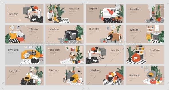 Landing Page Template for Interior Design - Man-made Objects Objects
