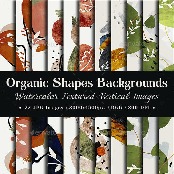 Organic Shapes Backgrounds