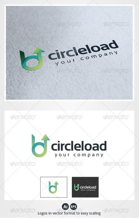 Circle Load Logo - Symbols Logo Templates