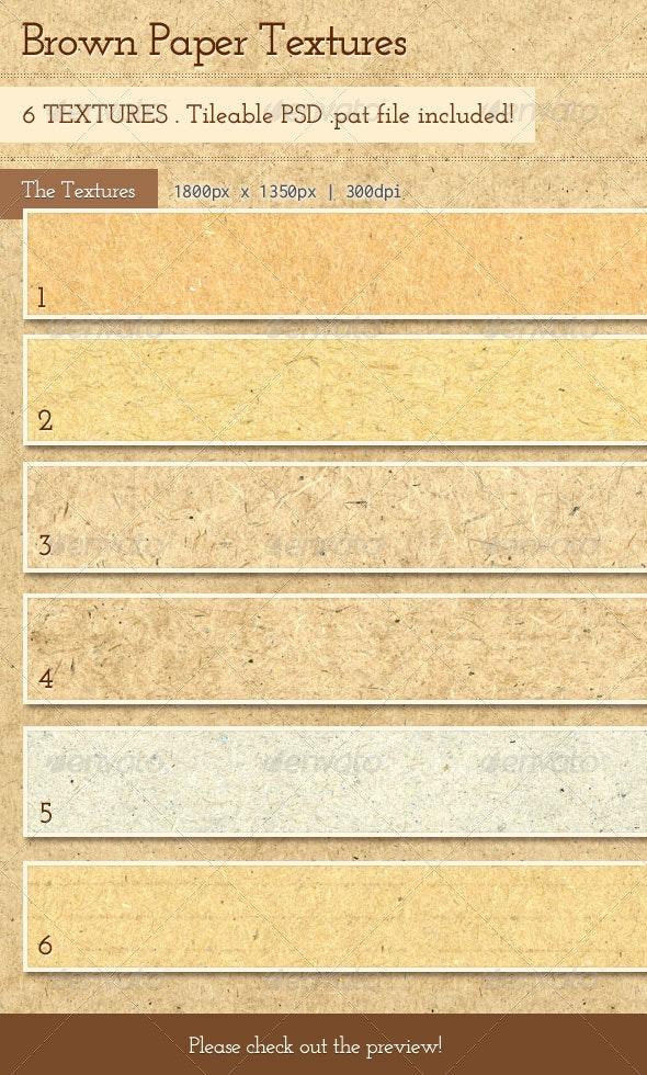 Brown Paper Textures - Paper Textures