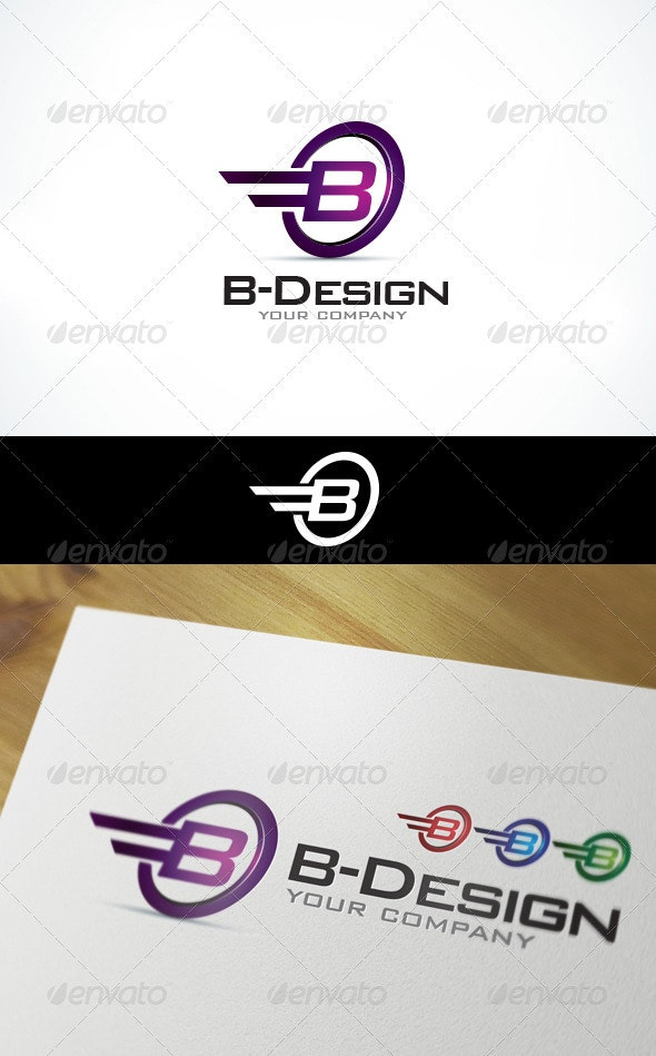 Logo Template - B Design - Letters Logo Templates