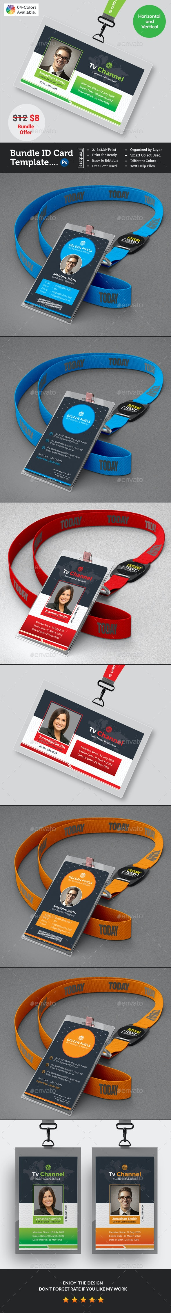 ID Card Bundle - Miscellaneous Events