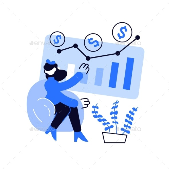 Investment Fund Abstract Concept Vector - Business Conceptual