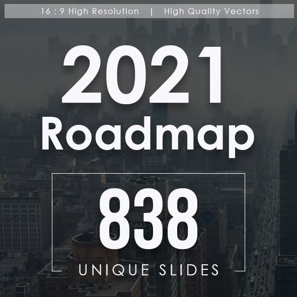 2021 Roadmap Google Slides Bundle