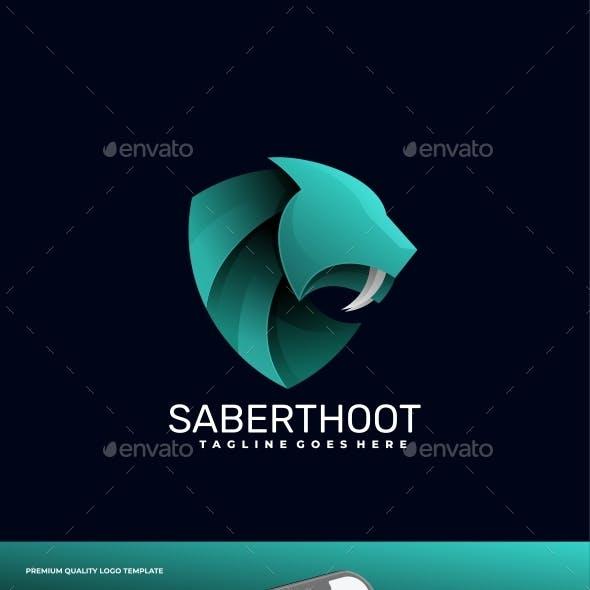 Tiger Gradient Logo Template