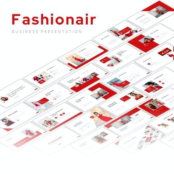Fashionair Powerpoint