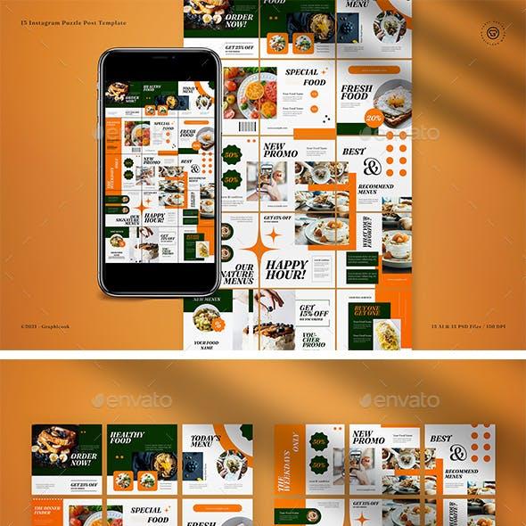 Food Instagram Puzzle