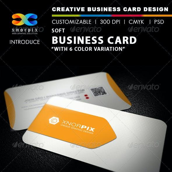 Soft Business Card