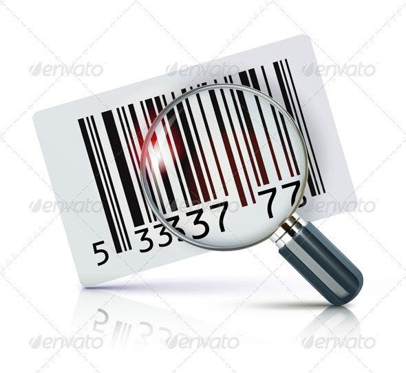 Barcode sticker - Commercial / Shopping Conceptual