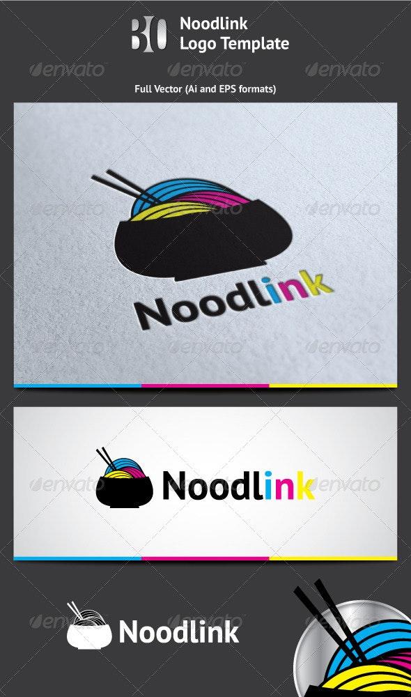 Noodlink Logo - Vector Abstract