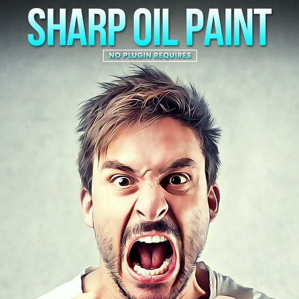 Sharp Oil Paint