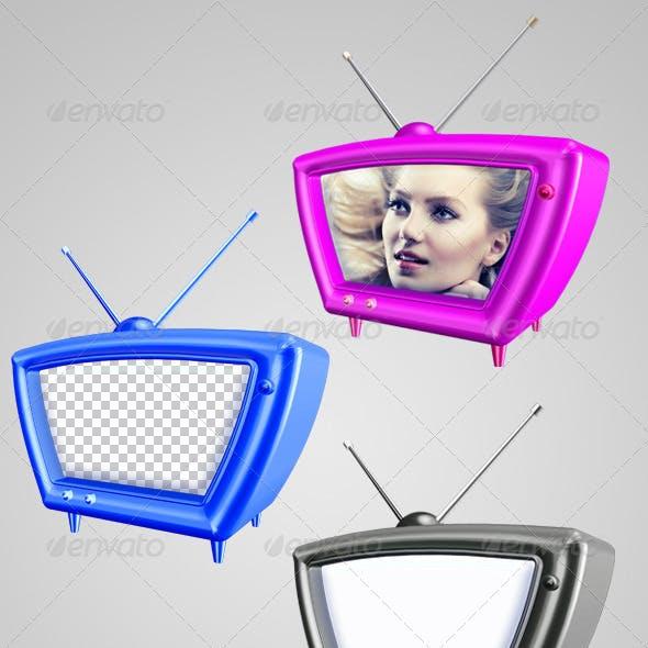TV Cartoon 3D Color