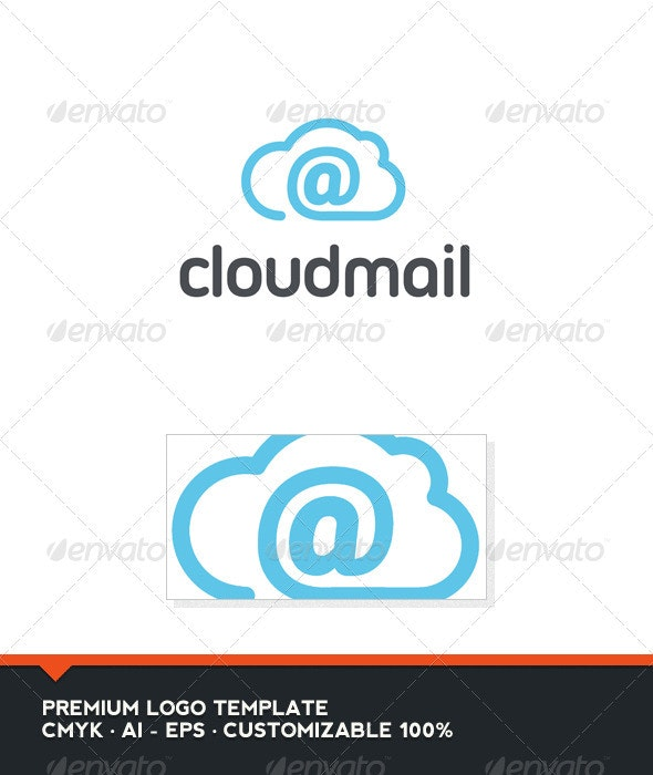 Cloud Mail Logo Template - Objects Logo Templates