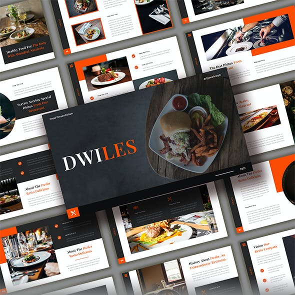 Dwiles - Food Powerpoint Template