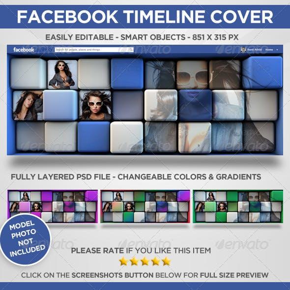 Facebook Timeline Cover - Cubist