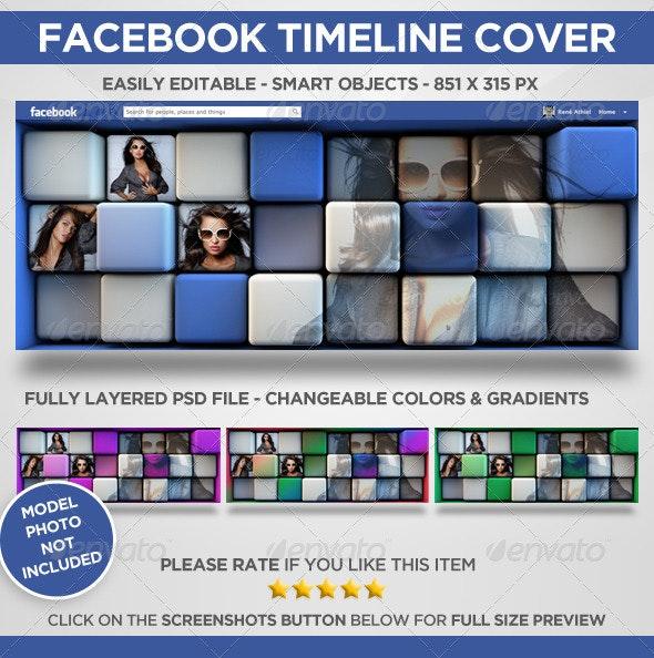 Facebook Timeline Cover - Cubist - Facebook Timeline Covers Social Media