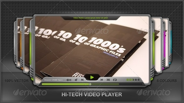 Hi-Tech Media Player - Miscellaneous Web Elements