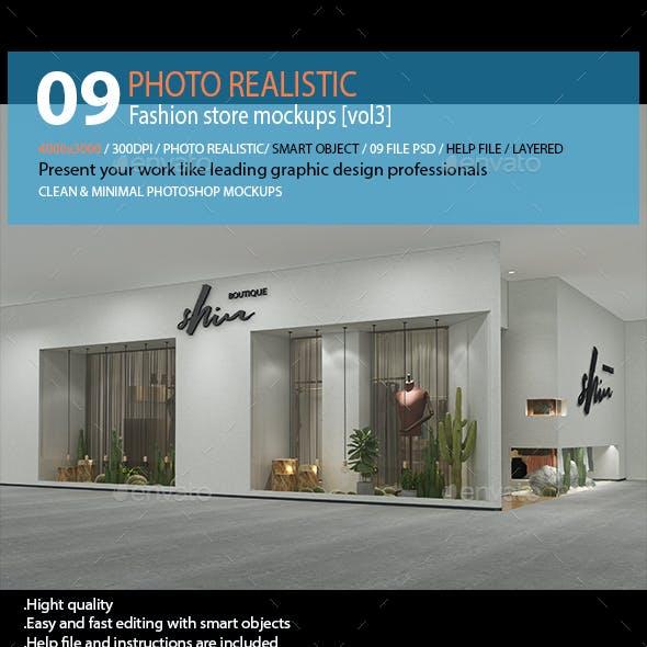 Fashion store mockups [vol3]