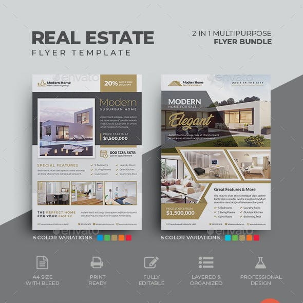 Real Estate Flyer Bundle 03