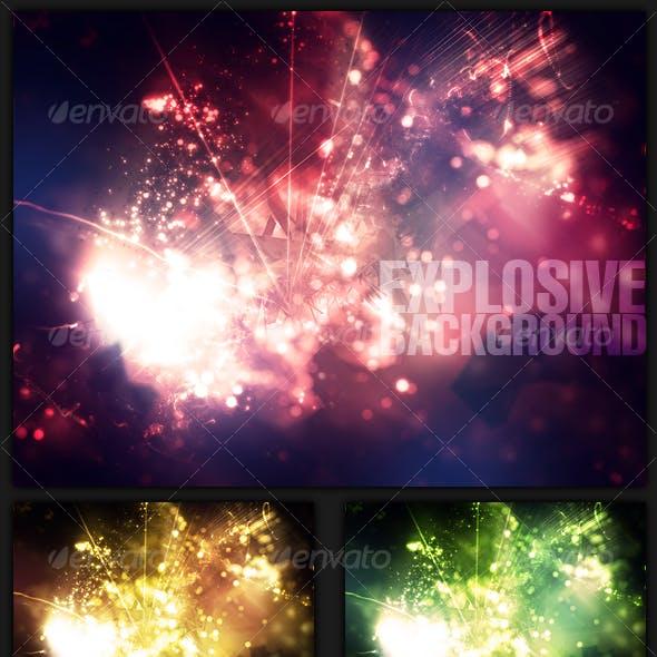 Explosive Background.