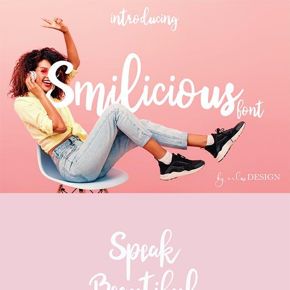 Smilicious Font