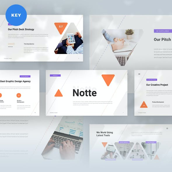 Notte Pitch Deck Keynote Template