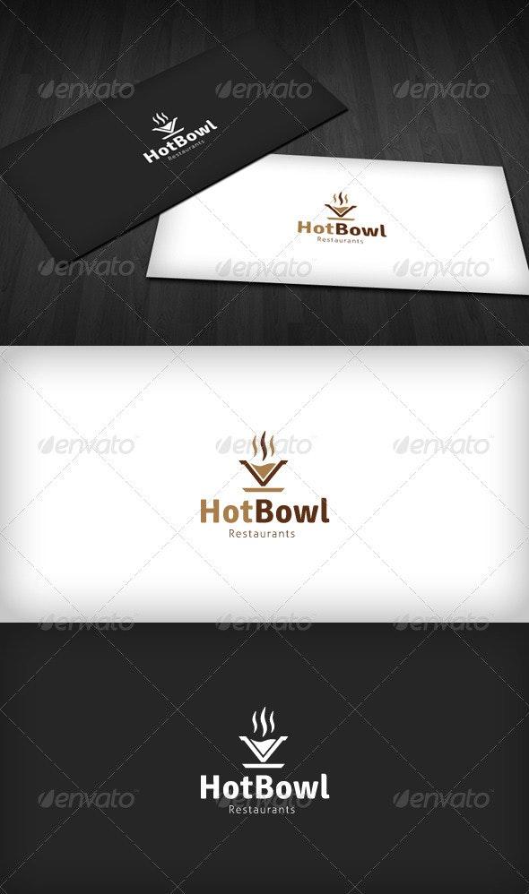 Hot Bowl Logo - Objects Logo Templates
