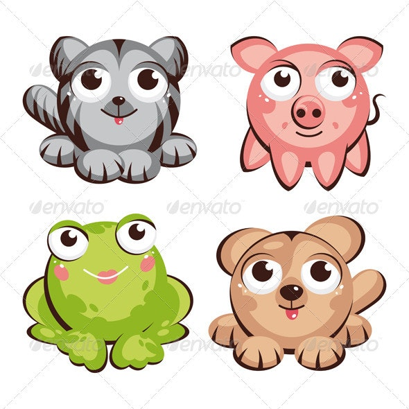 Cute Animals - Animals Characters