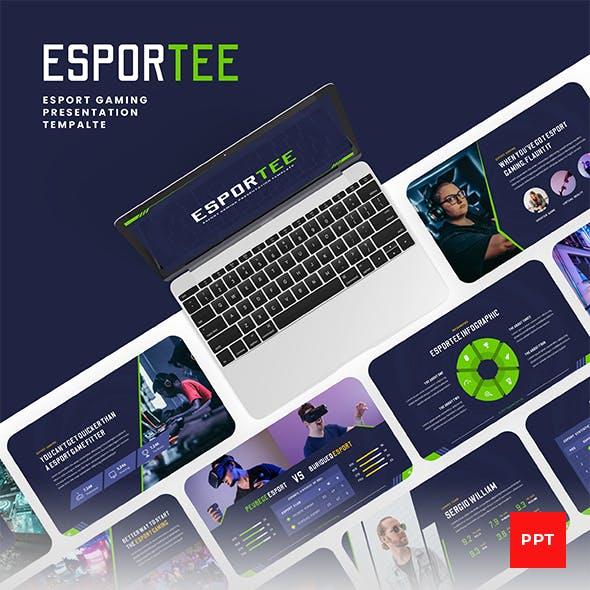 Esportee - Esport Gaming PowerPoint Presentation Template