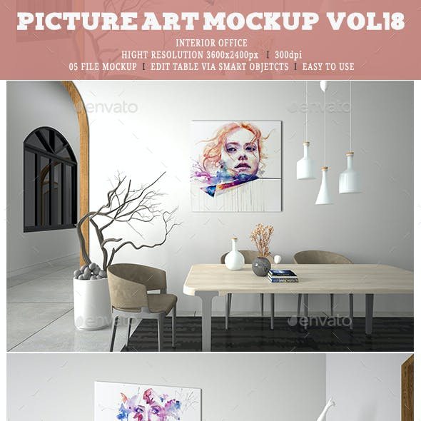 Picture Art Mockup [Vol 18]