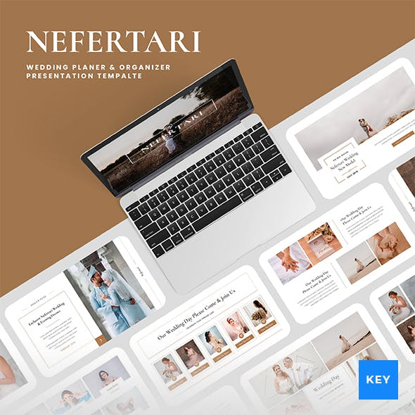 Nefertari – Wedding Planner & Organizer Keynote Presentation Template