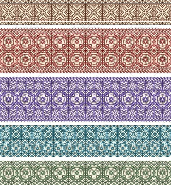 5 Eastern Patterns - Patterns Decorative