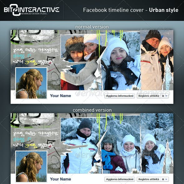 Facebook timeline cover - Urban Style