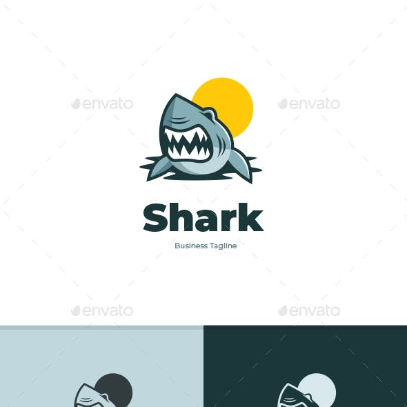 Big Shark Logo Template