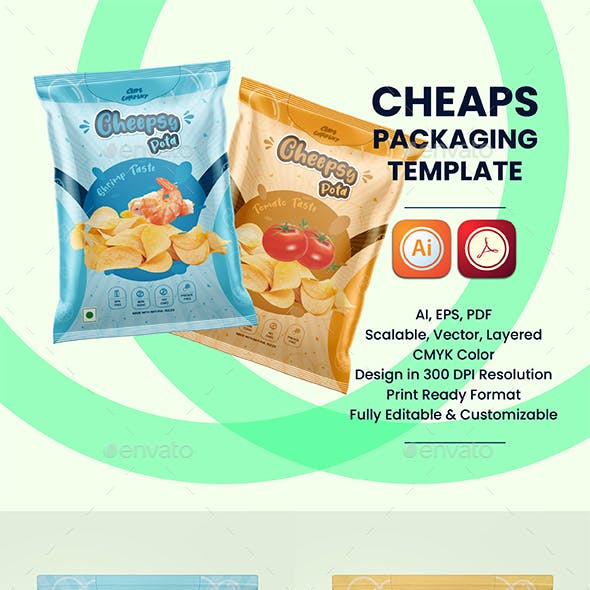 Chips Packaging Template