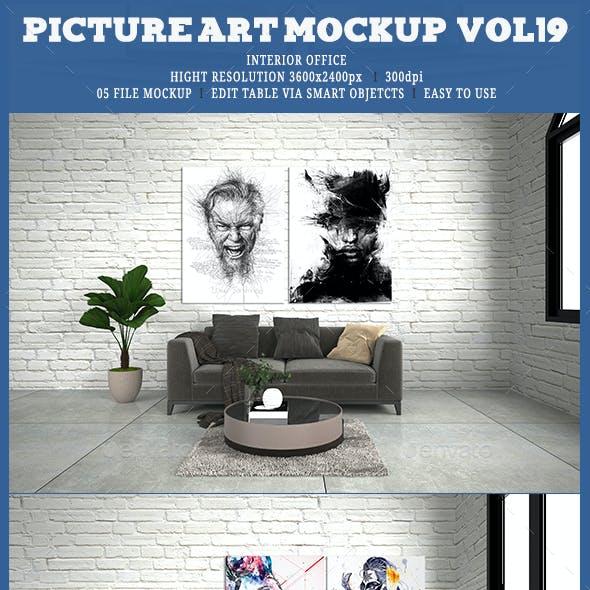 Picture Art Mockup [Vol 19]
