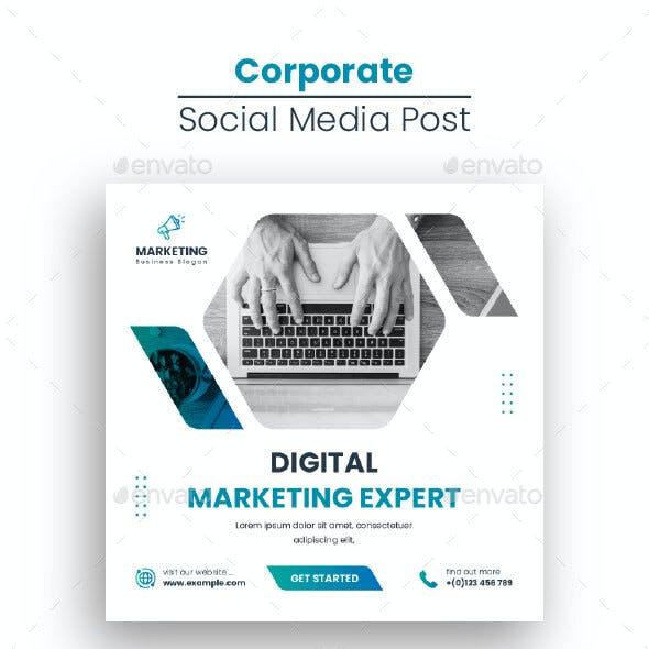 Social Media Post Template Design