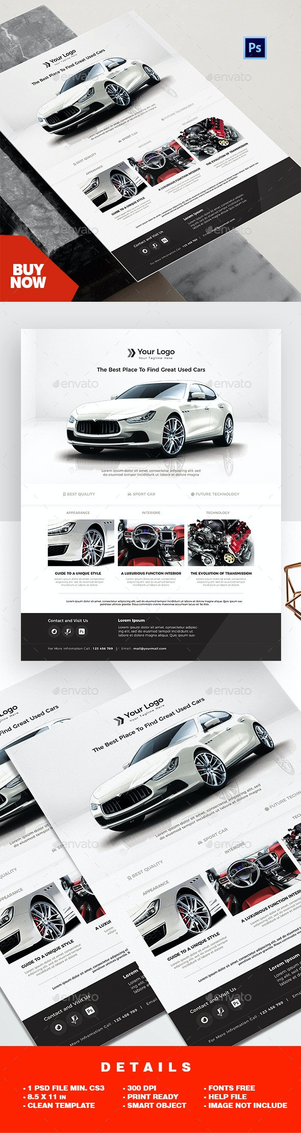 Product Flyer - Car Promotions - Corporate Flyers
