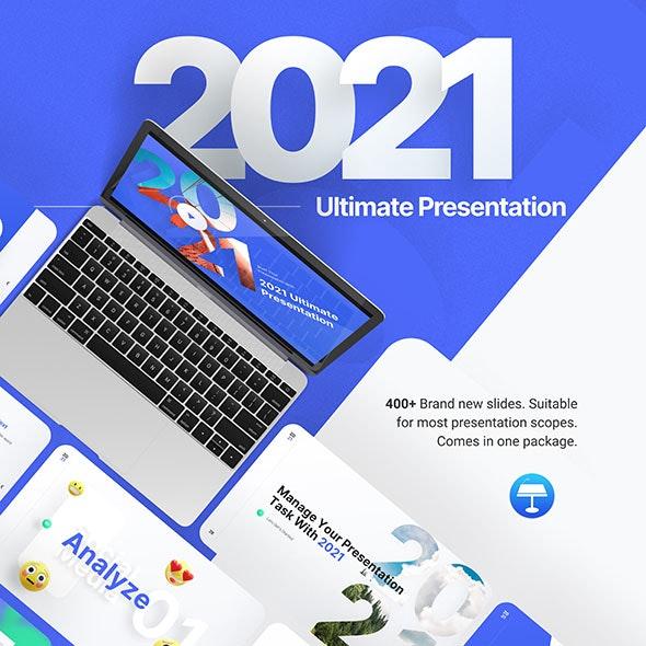 2021 Ultimate Multipurpose Keynote Presentation Template - Business Keynote Templates