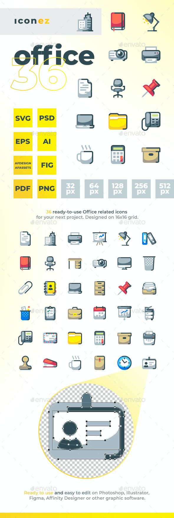Iconez - Office - Objects Icons