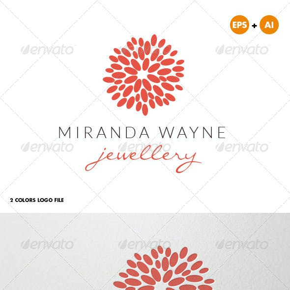 Jewelry Bijoux Beauty Logo for Creative Designer