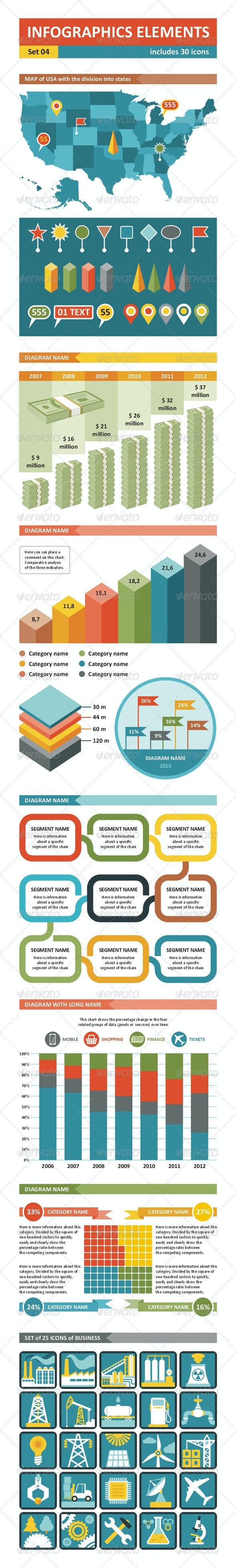 Infographics Elements - set 04 - Infographics