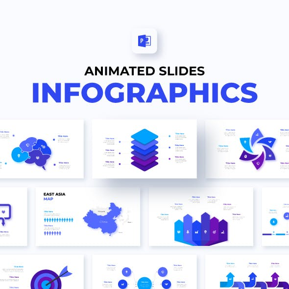 Animated PowerPoint Infographics