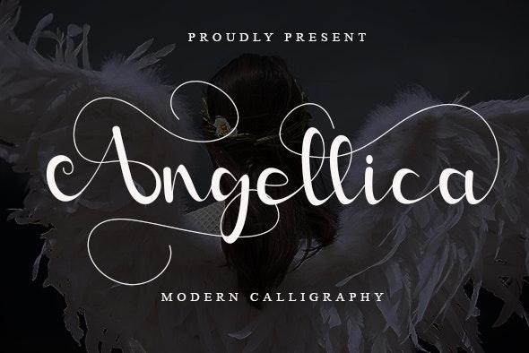 Angellica - Hand-writing Script