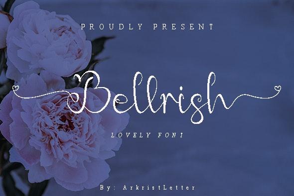 Bellrish - Hand-writing Script