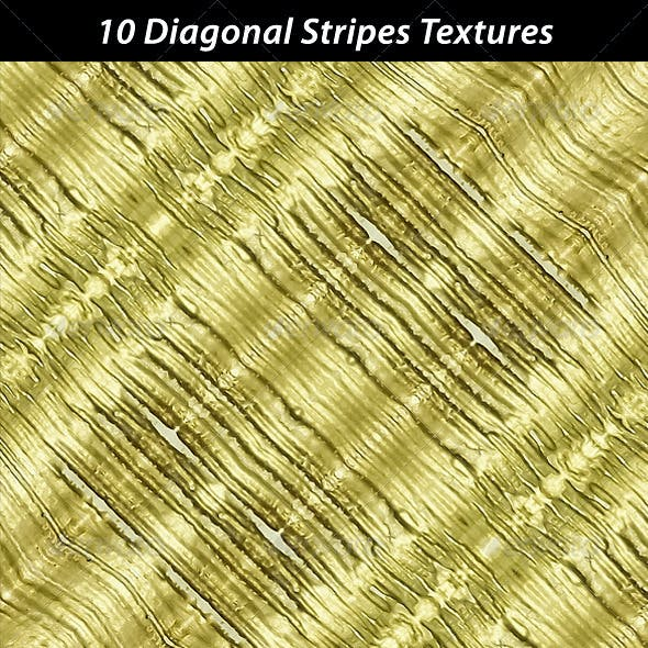 10 Diagonal StripesTextures
