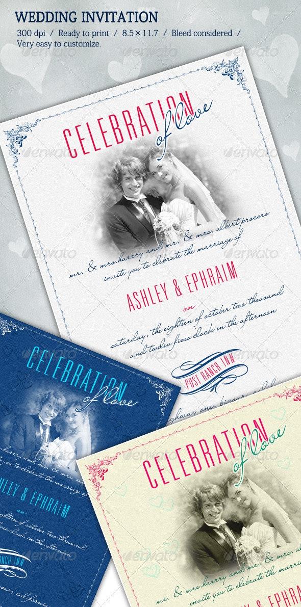 Wedding Invitations - Miscellaneous Graphics
