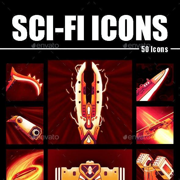 Sci-Fi Icon Designs