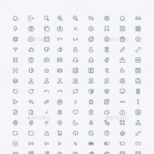 SaaS Essentials Icon Set