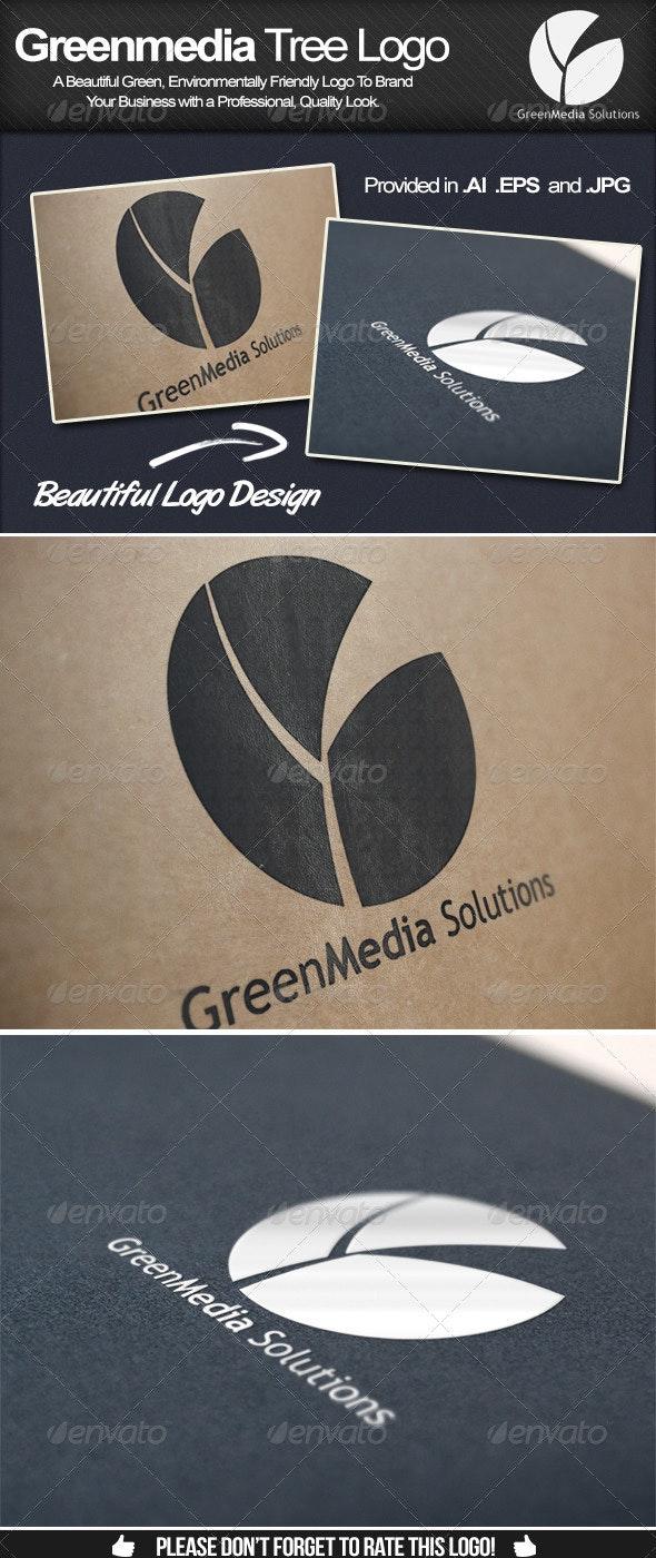 Greenmedia Tree Logo - Logo Templates